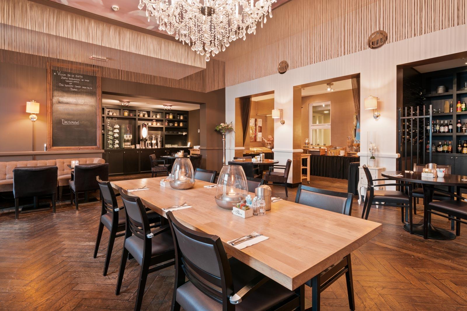 Het restaurant van Hotel Merlinde