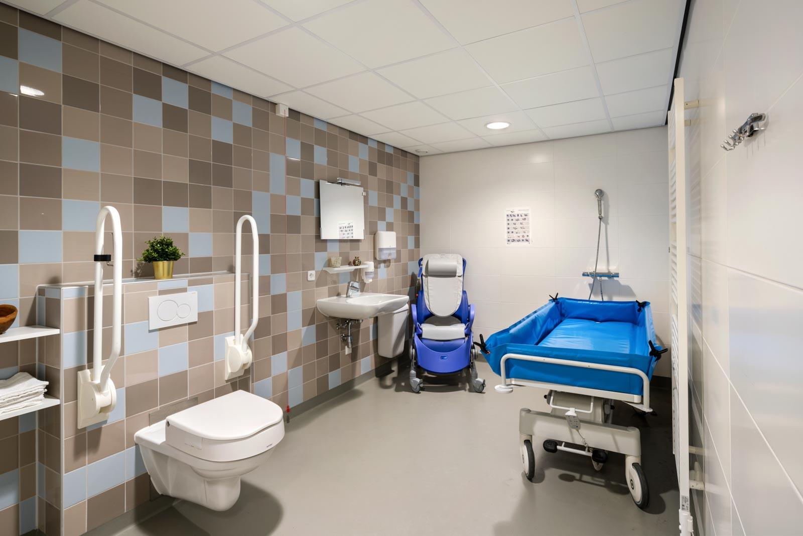 Foto van een badkamer bij SDW Woonlocatie 't Zand