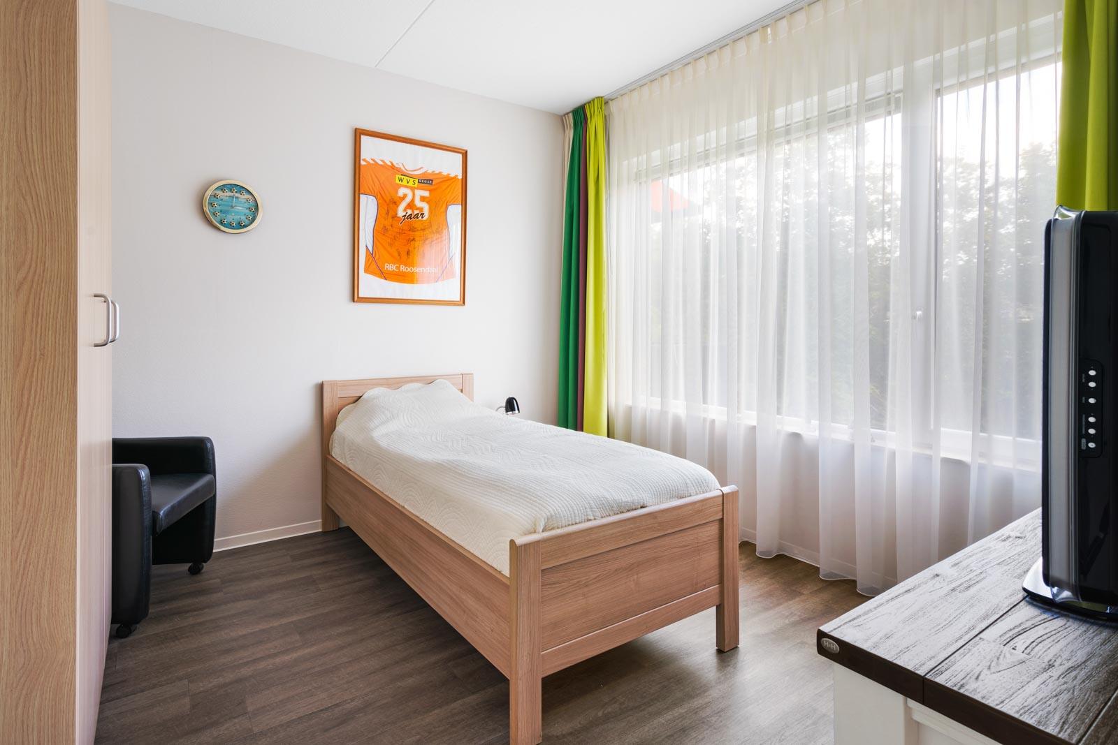 Foto van een slaapkamer in een appartement bij SDW Woonlocatie 't Zand